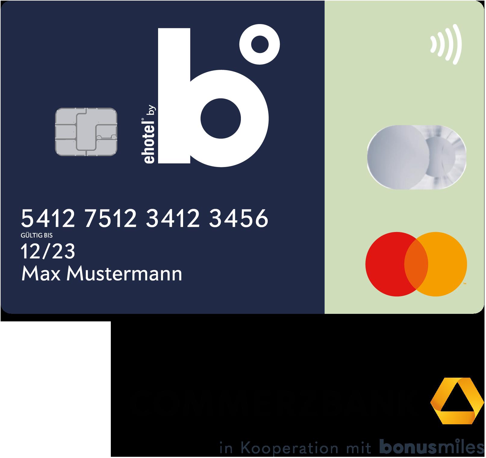 bonusmiles b° Kreditkarte Punkte sammeln - Meilen ohne Ende - Commerzbank Partner