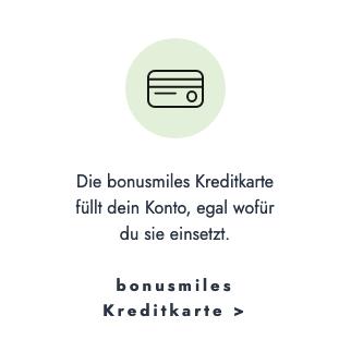 bonusmiles Kreditkarte