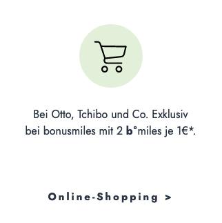 Beim Online-Shopping Meilen sammeln - Amazon oder Zalando 1b°miles je 1 Euro